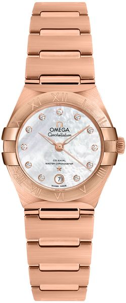 Omega Manhattan Rose Gold Women's Watch 131.50.29.20.55.001