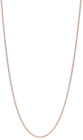 14k Rose Gold Chain Necklace