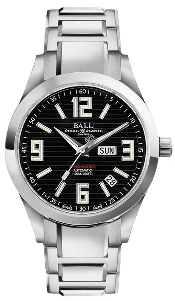 Ball Engineer II Arabic Chronometer Black Dial Men's Watch  NM2026C-S2CA-BK