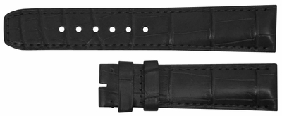 Baume et Mercier 20mm Black XL Strap MX002SXL