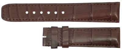 Baume et Mercier 22mm Brown Strap MX002TLM