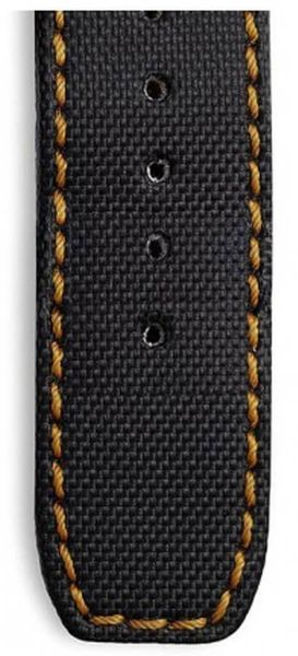 Baume et Mercier Black Kevlar OEM Watch Strap MX002WD7