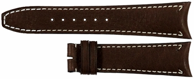 Baume et Mercier Capeland 21mm Brown Leather Strap MA8A440A