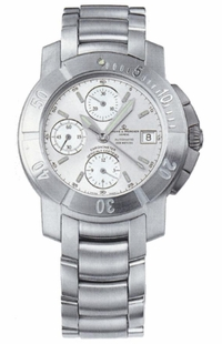 Baume & Mercier Capeland S Silver Dial Chronograph Men's Watch 8113