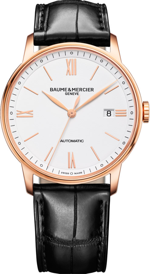 Best Automatic Watches >> Baume & Mercier Classima Rose Gold 10271