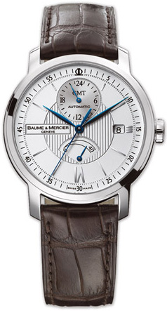 b2066829f60 8693 Baume   Mercier Classima Executives GMT Power Reserve Watch
