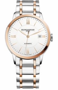 Baume & Mercier Classima Silver Dial Men's Watch 10217