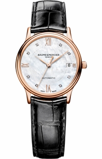Baume & Mercier Classima Solid 18k Gold Luxury Watch 10077