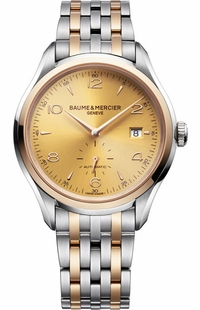 Baume & Mercier Clifton Gold Dial Men's Watch 10352