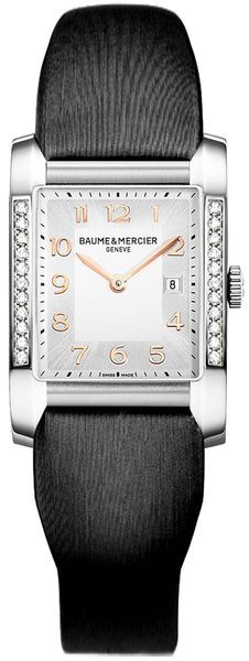 Baume & Mercier Hampton Rectangular Diamond Women's Watch 10023