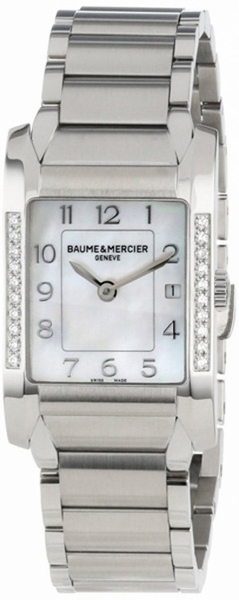 Baume & Mercier Hampton Rectangular 10051