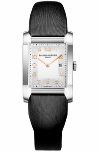 Baume & Mercier Hampton Rectangular Women's Luxury Watch 10020