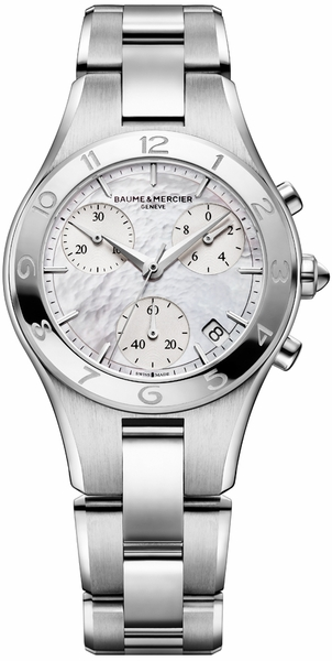 Baume & Mercier Linea Chronograph Women's Watch 10012