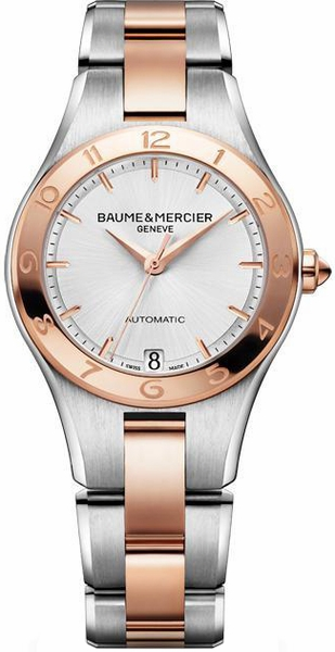 Baume & Mercier Linea Silver Dial Women's Watch 10073