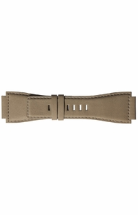 Bell Ross 24mm Beige Desert Type Calfskin Leather Strap