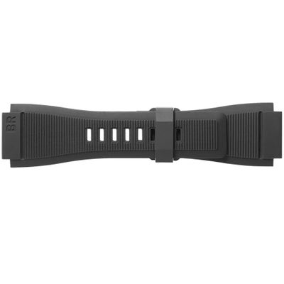 Bell & Ross 24mm Black Rubber Strap B-P-029