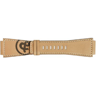 Bell & Ross 24mm Tan Leather Strap B-V-037