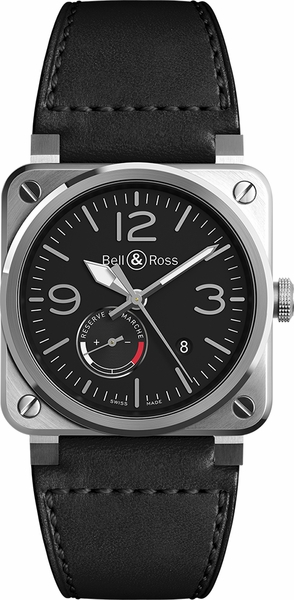 Bell & Ross Aviation Instruments BR0397-BL-SI/SCA/2