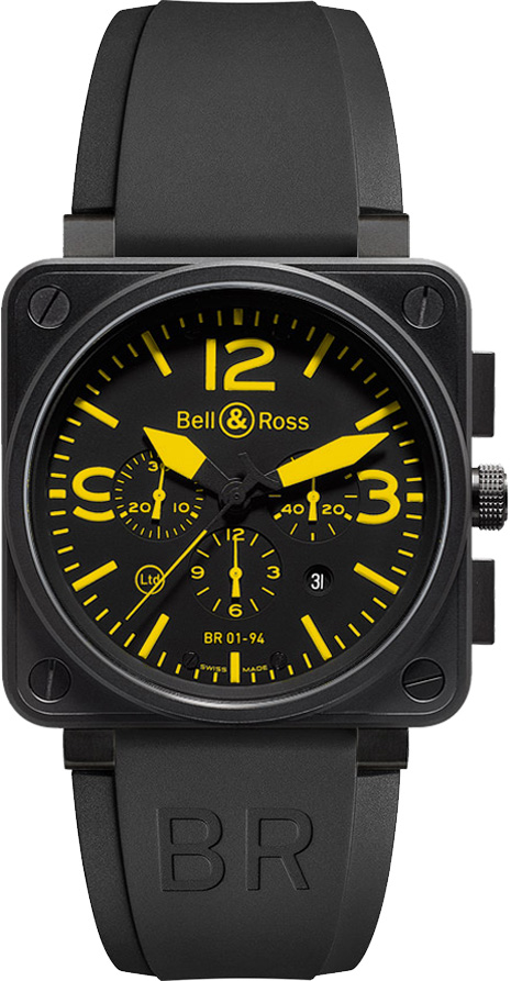 Bell And Ross Watches >> Bell Ross Aviation Br01 94 Yellow