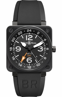 Bell & Ross Aviation Instruments BR0193-GMT