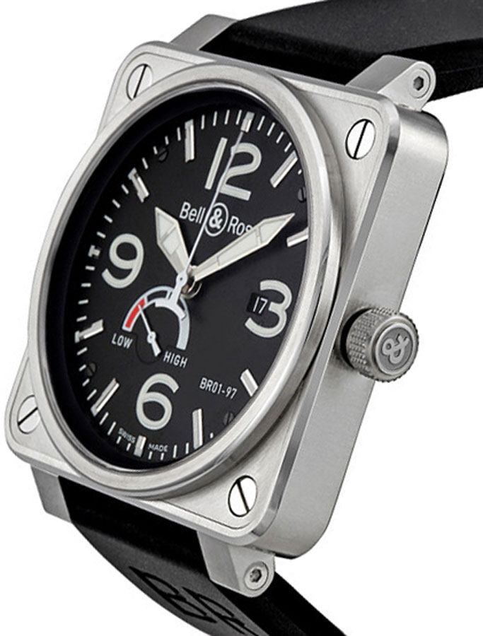 on sale e0340 1582f BR0197-BL-ST | Bell & Ross | AuthenticWatches.com