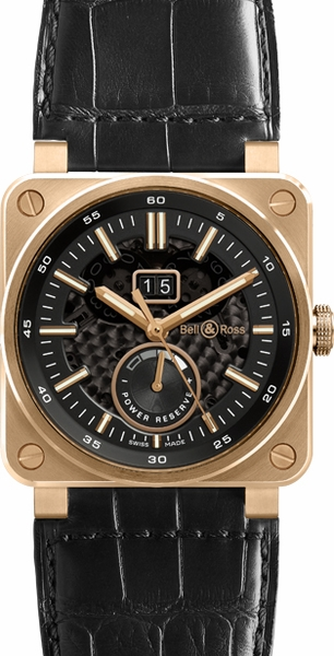 Bell & Ross Aviation Instruments BR0390-PINKGOLD