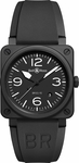 Bell & Ross Aviation Instruments BR0392-BL-CE