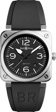Bell & Ross Aviation Instruments Automatic Men's Watch BR0392-BLC-ST