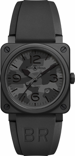Bell & Ross Aviation Instruments BR0392-CAMO-CE/SRB
