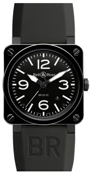 Bell & Ross Aviation Instruments BR0392-CER-BLP/SRB