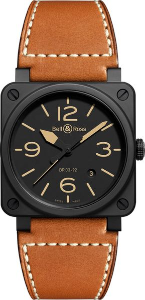 Bell & Ross Aviation Instruments BR0392-HERITAGE-CE