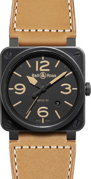 Bell & Ross Aviation Instruments BR0392-HERITAGE