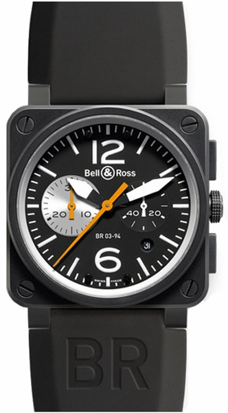 Bell & Ross Aviation Instruments BR0394-BW