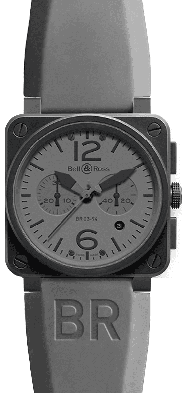 Bell And Ross Watches >> Bell Ross Aviation Instruments Br0394 Commando