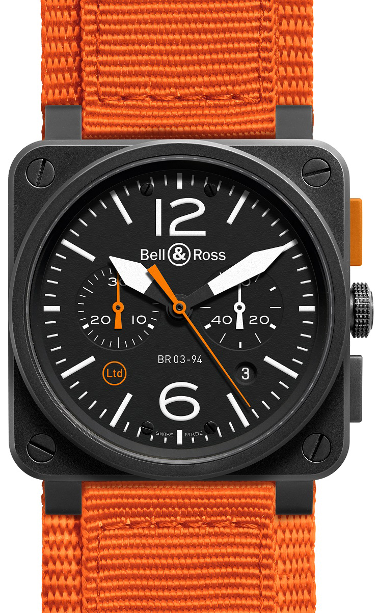 picture Bell Ross Men's BR03-94 Watch