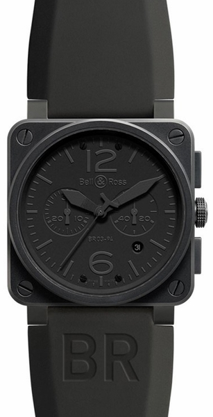 Bell & Ross Aviation Instruments BR0394-PHANTOM