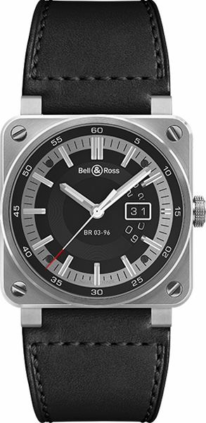 Bell & Ross Aviation Instruments BR0396-SI-ST