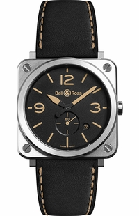 Bell & Ross Aviation Instruments Men's Watch BRS-HERI-ST/SCA