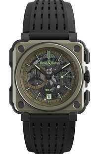 Bell & Ross Aviation Experimental BRX1-CE-TI-MIL