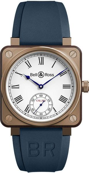 Bell & Ross Aviation Instruments Wood Men's Watch BR01-CM-203-B-P-022