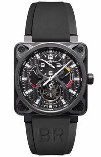 Bell & Ross Aviation Instruments Tourbillon Men's Watch BR01-TOURBILLON