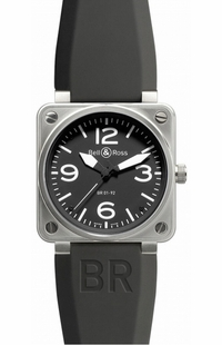 Bell & Ross Aviation Instruments BR0192-BL-ST