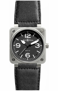 Bell & Ross Aviation Instruments BR0192-BL-ST/SCA