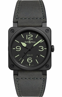 Bell & Ross Aviation Instruments BR0392-BL3-CE/SCA