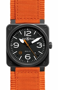 Bell & Ross Aviation Instruments BR0392-O-CA