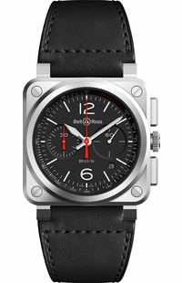 Bell & Ross Aviation Instruments BR0394-BLC-ST/SCA