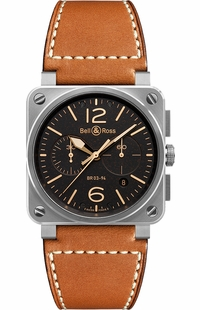 Bell & Ross Aviation Instruments BR0394-ST-G-HE/SCA