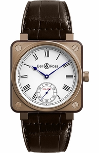 Bell & Ross Aviation Instruments Bronze Men's Watch BR01-CM-203