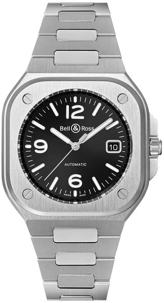 Bell & Ross BR 05 Black Dial Steel Men's Watch BR05A-BL-ST/SST