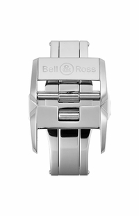 Bell & Ross 18mm Polished Stainless Steel Deployment Buckle FD-I-010